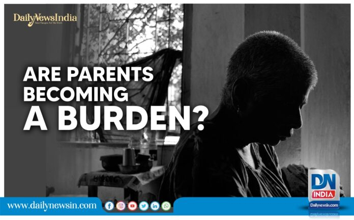 Are parents becoming a burden? The increasing number of secluded old people raises the question